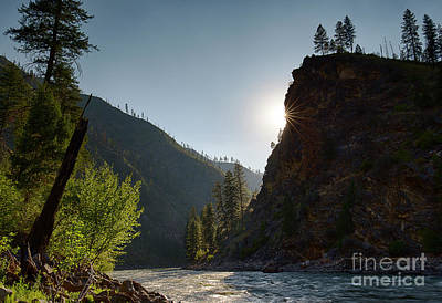Photograph - Sunset On The Salmon by Idaho Scenic Images Linda Lantzy