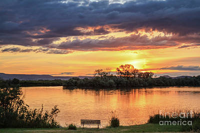 Photograph - Sunset On The Snake River by Robert Bales