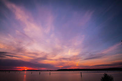Photograph - Sunset On The Sound by Charlie Duncan