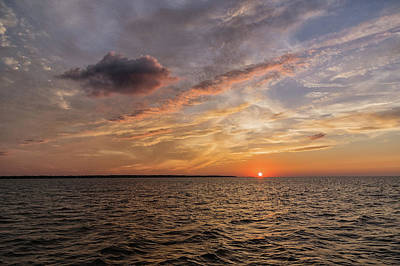 Photograph - Sunset On The Sound by Gregg Southard