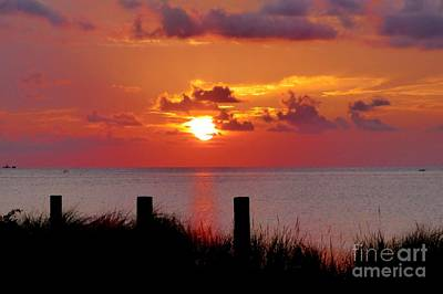 Photograph - Sunset On The Sound by Jean Wright