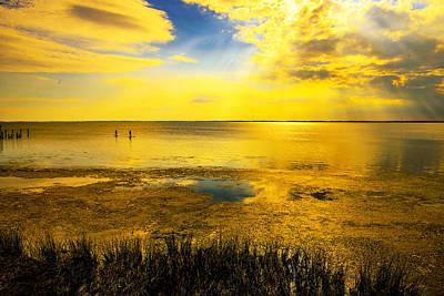 Photograph - Sunset On The Sound by John Harding