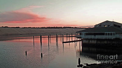 Photograph - Sunset On The Suislaw River by Methune Hively