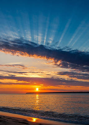 Photograph - Sunset On The Superior South Shore by Rikk Flohr
