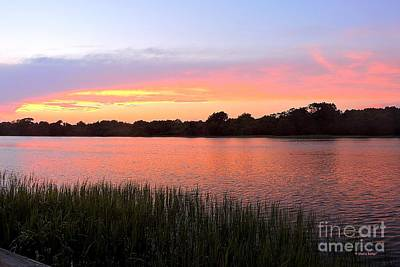 Photograph - Sunset On The Waterway by Shelia Kempf