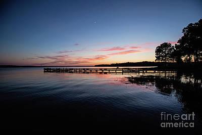 Photograph - Sunset On Toledo Bend - Pov 1 by Scott Pellegrin