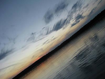 Animal Paintings David Stribbling - Sunset on Trout Lake by John Waterman