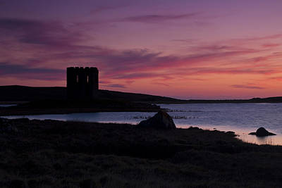 Art Print featuring the photograph Sunset On Uist by Gabor Pozsgai