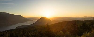 Photograph - Sunset On Wind Mountain by Jason Clarke