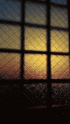 Digital Art - Sunset Orange by Kumiko Izumi