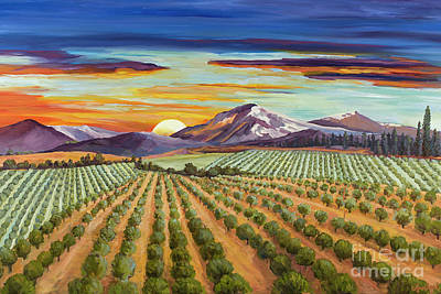 Mellow Yellow - Sunset Orchards by Lynn Fogel