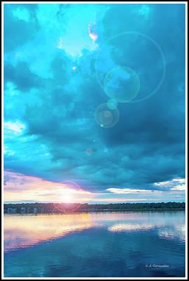 Photograph - Sunset Over A Lake by A Gurmankin