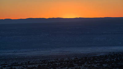 Photograph - Sunset Over Albuquerque by Steve Gravano