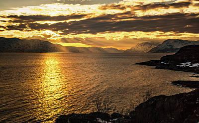 Photograph - Sunset Over Altafjord by Adam Rainoff
