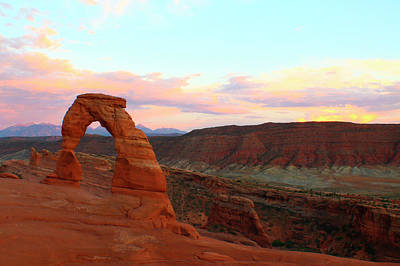 Photograph - Sunset Over Arches by Jon Emery