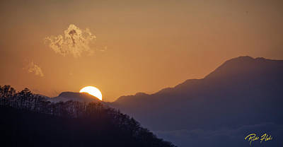 Photograph - Sunset Over Asia  by Rikk Flohr