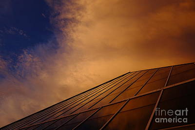 Photograph - Sunset Over Bass Pro Shop In Memphis Tennessee by T Lowry Wilson