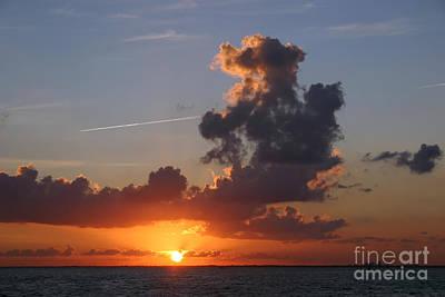 Sunset Over Biscayne Bay Print by Matt Tilghman