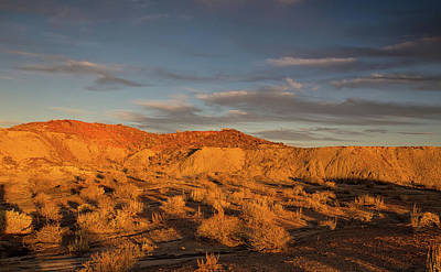 Photograph - Sunset Over Bisti Badlands by Kunal Mehra