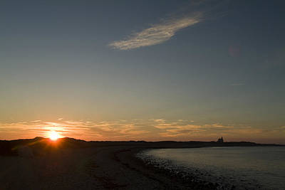 Block Island Photograph - Sunset Over Block Island Near The North by Todd Gipstein