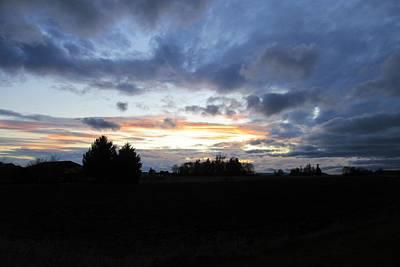 Photograph - Sunset Over Bow by Karen Molenaar Terrell