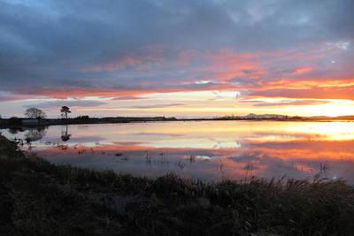 Photograph - Sunset Over Bow, Washington by Karen Molenaar Terrell