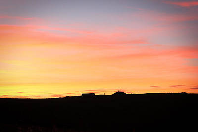 Photograph - Sunset Over Cairnpapple by RKAB Works