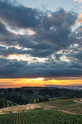 Photograph - Sunset Over Central Oregon 1 by Greg Nyquist
