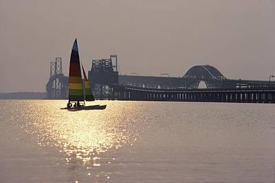 Sunset Over Chesapeake Art Print