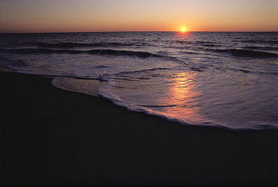 Natural Forces Photograph - Sunset Over Chincoteague, Virginia by Medford Taylor