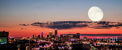 Cleveland Photograph - Sunset Over Cleveland#5 by Joseph Miko