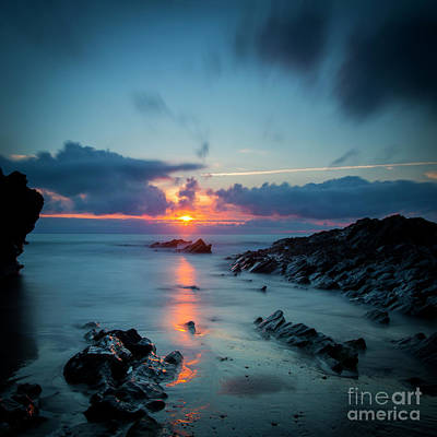 Photograph - Sunset Over Cornwall by Brian Jannsen