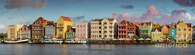 Photograph - Sunset Over Curacao by Brian Jannsen