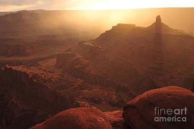 Sunset Over Dead Horse Point Art Print