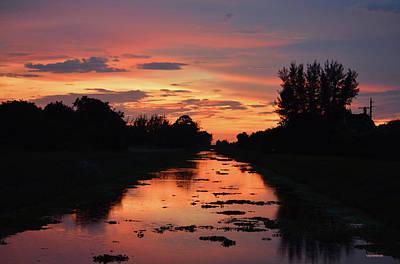 Keys Photograph - Sunset Over Delray 2 by Ken Figurski