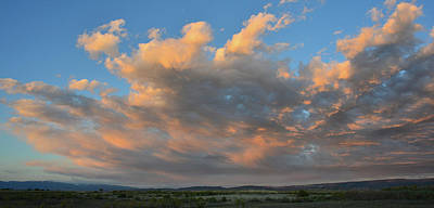 Photograph - Sunset Over Delta Colorado by Ray Mathis