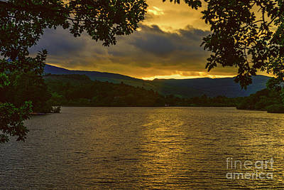 Photograph - Sunset Over Derwentwater by Elvis Vaughn