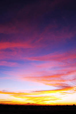 Photograph - Sunset Over Desert by Jill Reger