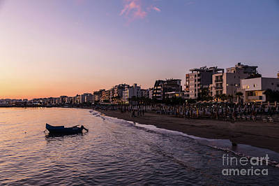 Photograph - Sunset Over Durres In Albania  by Didier Marti