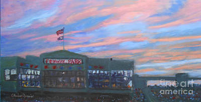 Sunset Over Fenway Original