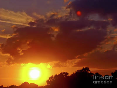 Photograph - Sunset Over Florida by D Hackett