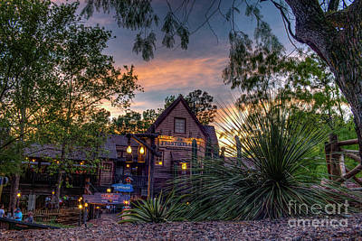 Photograph - Sunset Over Frontierland by Luis Garcia