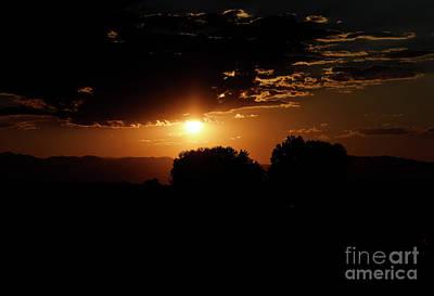 Sunset Over Ft. Collins Art Print