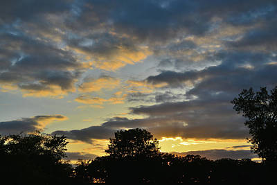 Photograph - Sunset Over Hackmatack Wildlife Refuge by Ray Mathis