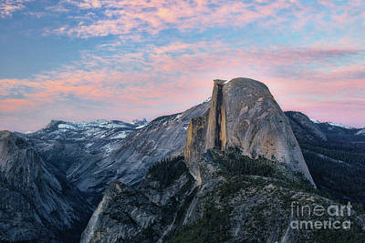 Photograph - Sunset Over Half Dome by Vincent Bonafede