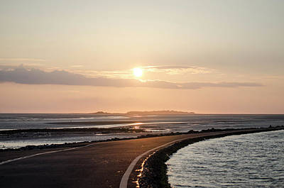 Photograph - Sunset Over Hilbre Island by Spikey Mouse Photography