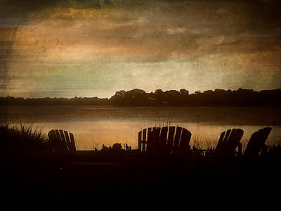Digital Art - Evening At Hillstone by Valerie Reeves