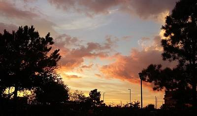 Wall Art - Photograph - Sunset Over Katy by Tina Partridge