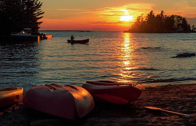 Photograph - Sunset Over Lake Nipissing by Garvin Hunter