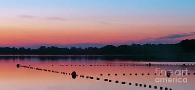 Photograph - Sunset Over Lake Szarcz by Jaroslaw Suchozebrski